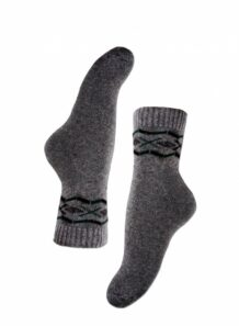 grey female socks