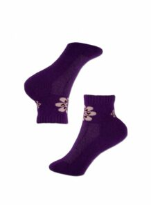 purple kids socks