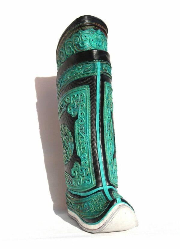 Mongolian Green Boots 64 pattern