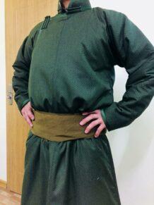 Mongolian Men Deel