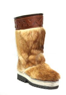 Brown Fur Boots