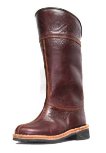 Brown Leather Boots 21