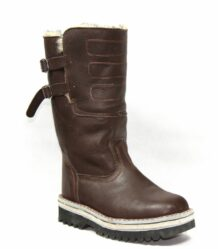 Brown Leather Boots