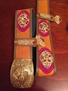 Mongolian Big Belt For Deel