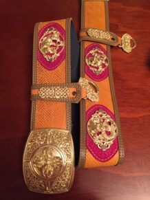 Mongolian Big Belt For Deel
