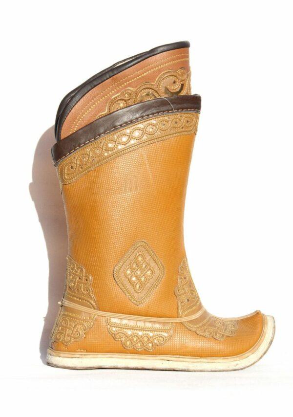 Mongolian Yellow Boots 32 pattern