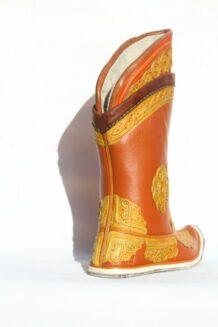 Mongolian Red Boots 52 pattern