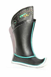 Mongolian Black Boots