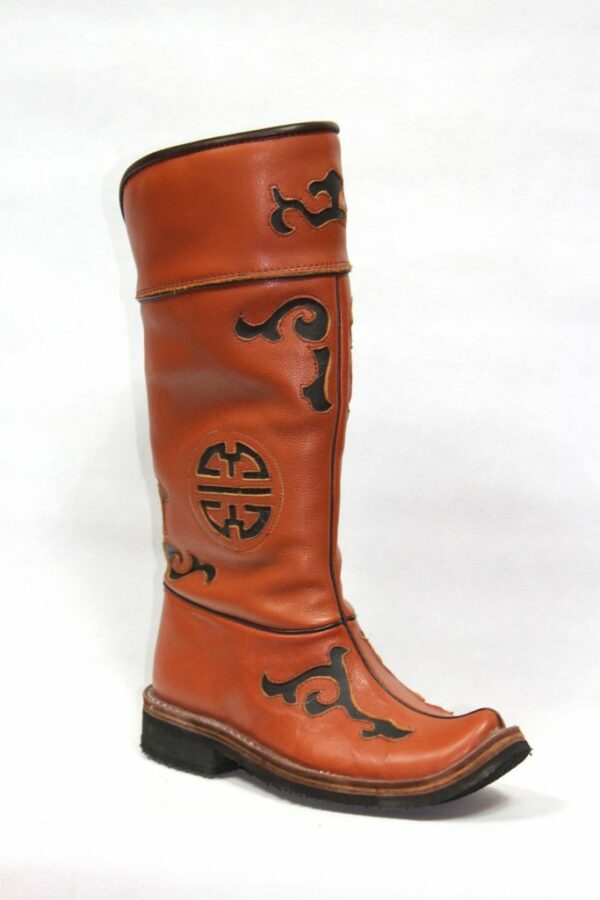 Brown Leather Boots M4