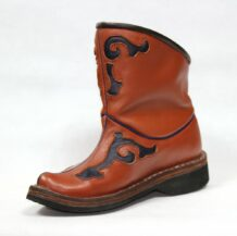 Brown Leather Boots M7