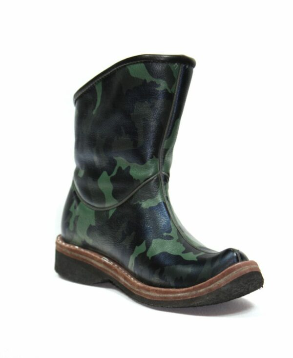 Short Leather Boots M2