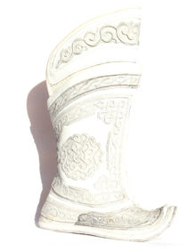 Mongolian White Boots 64 pattern