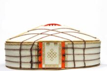 Mini Yurt made by wood