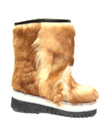 Women Brown Fur Boots