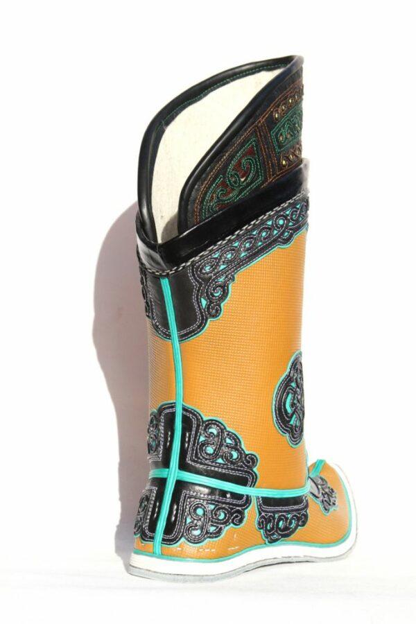 Mongolian Yellow Boots 52 pattern