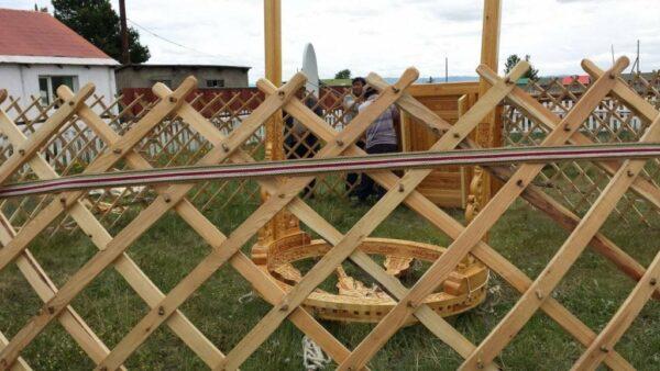 19 ft Traditional Mongolian Yurt