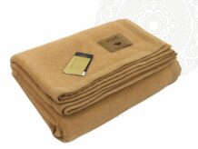 Camel wool bedding