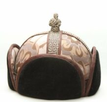 Mongolian Brown Mens Hat