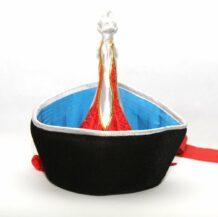 mongolian Blue velour hat