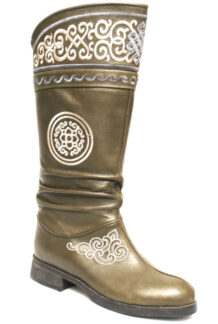 Green Ornamental Boots
