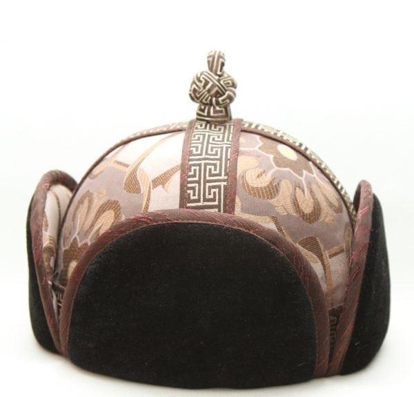 Mongolian Brown Mens Hat
