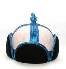 Mongolian 4Side Velour Hat