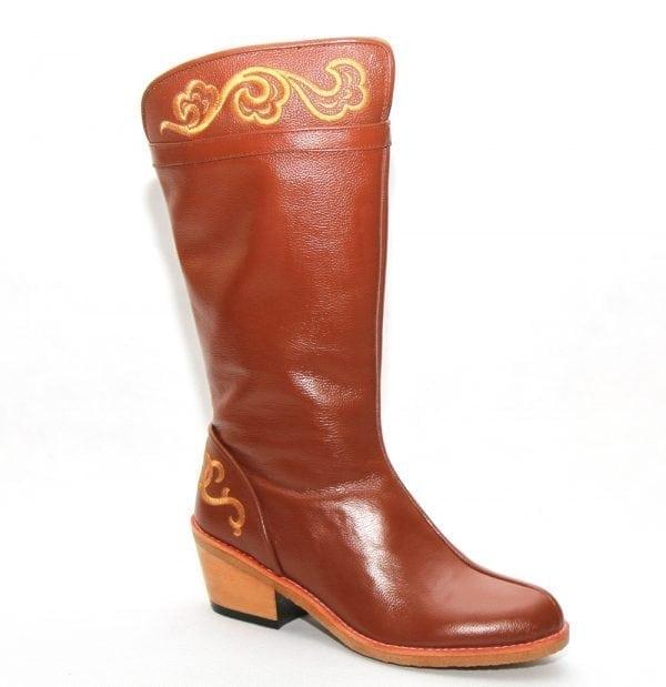 Modern Mongolian Boots