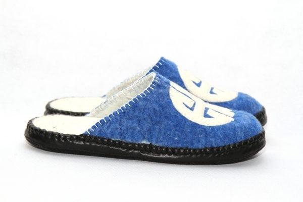 Mongolian Felted Slippers