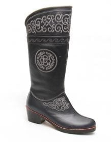 Modern Womens Mongolian Boots