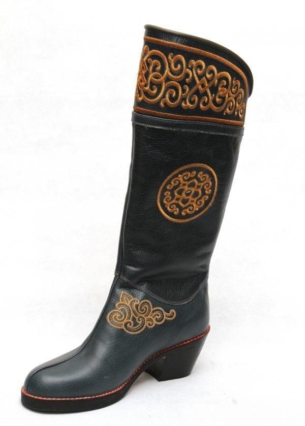 Modern Monglian Boots