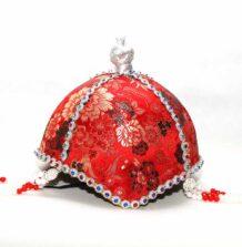 Women's Red Bielgee Hat