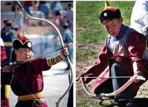Archers of Naadam Festival