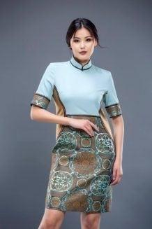 Mongolian Women's Dress