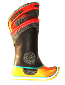 Ancient Traditional Design Hand Sewn Boots 16 Pattern