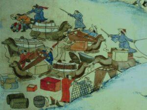 nomadic life of mongol people