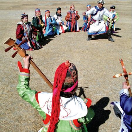 Mongolian Bii Biyelgee Dance (Body Dancing)