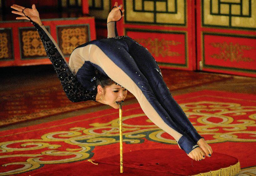 mongolian contortion women