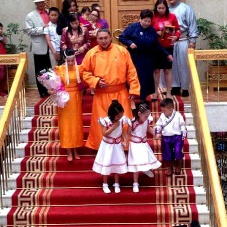 Mongolian Wedding