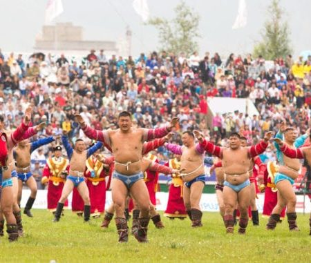 What is Mongolian Wrestling?