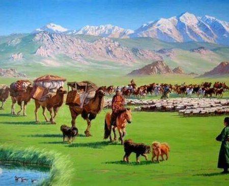 Nomadic Life in Mongolia – Moving to a New Pasture
