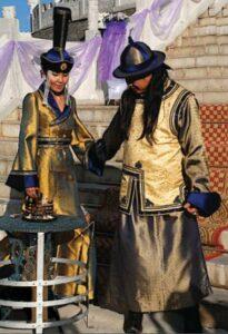 mongolian wedding tradition