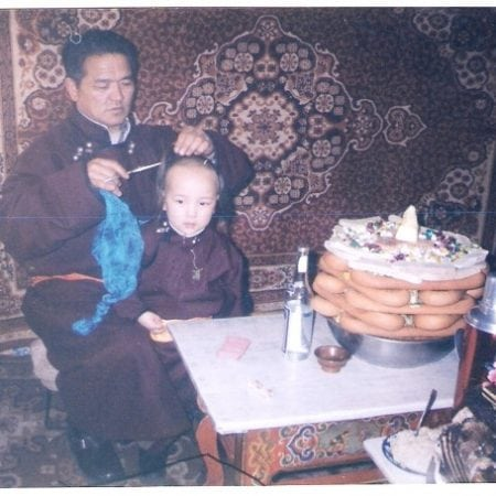 Tradition of Cutting the Hair of the Child for the First Time