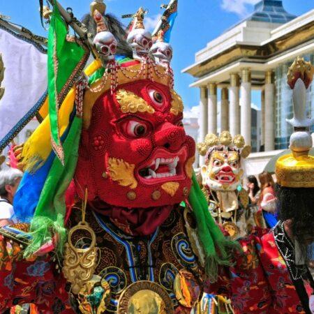 Tsam (Religious Mask Dance )