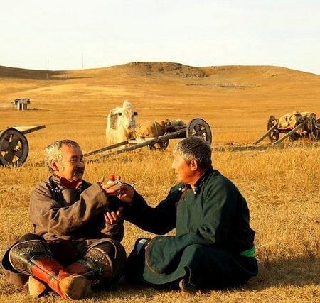 Greetings in Mongolia