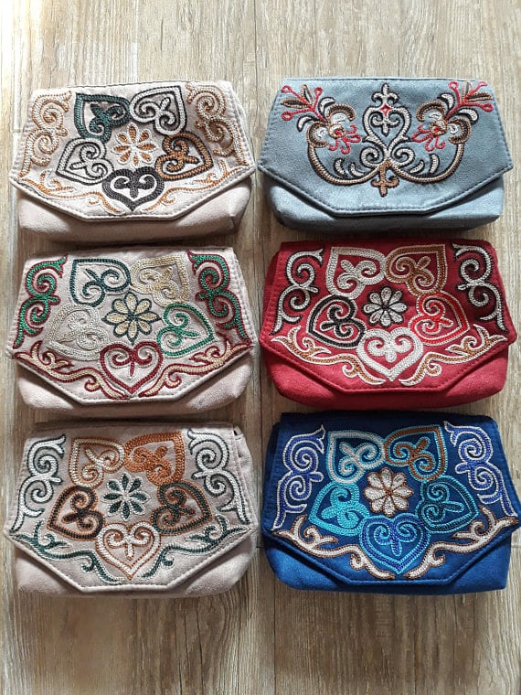 Kazakh Embroidered Bags