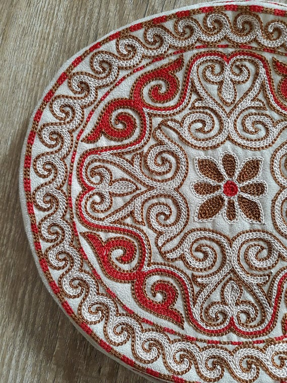Embroidered Coaster
