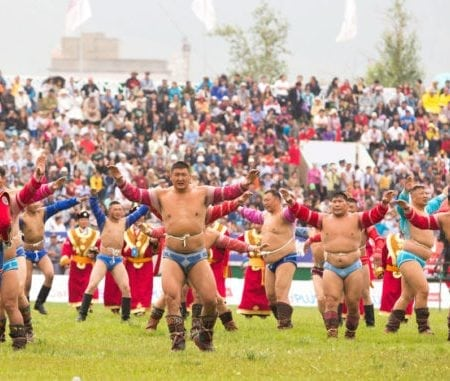 Mongolian Wrestling Title Recitation