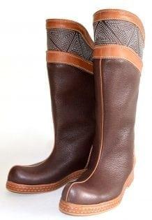 Brown Mongolian Boots 2