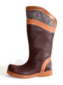 Brown Mongolian Boots