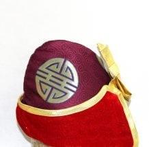 Left Side of Adjustable Tuguldur Hat
